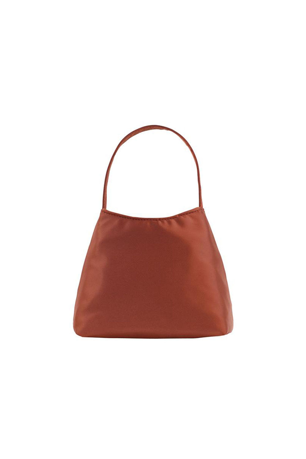THE MINI CHLOE SATIN | DESERT RED