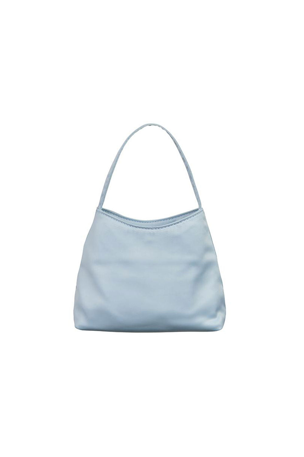 THE MINI CHLOE SATIN | POWDER BLUE