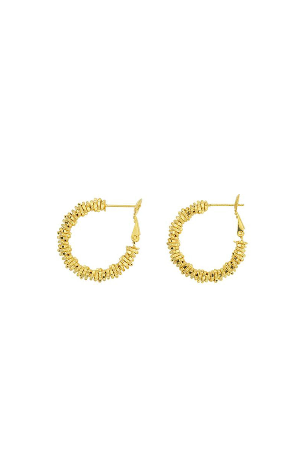 THE ZOE STACK HOOPS | GOLD