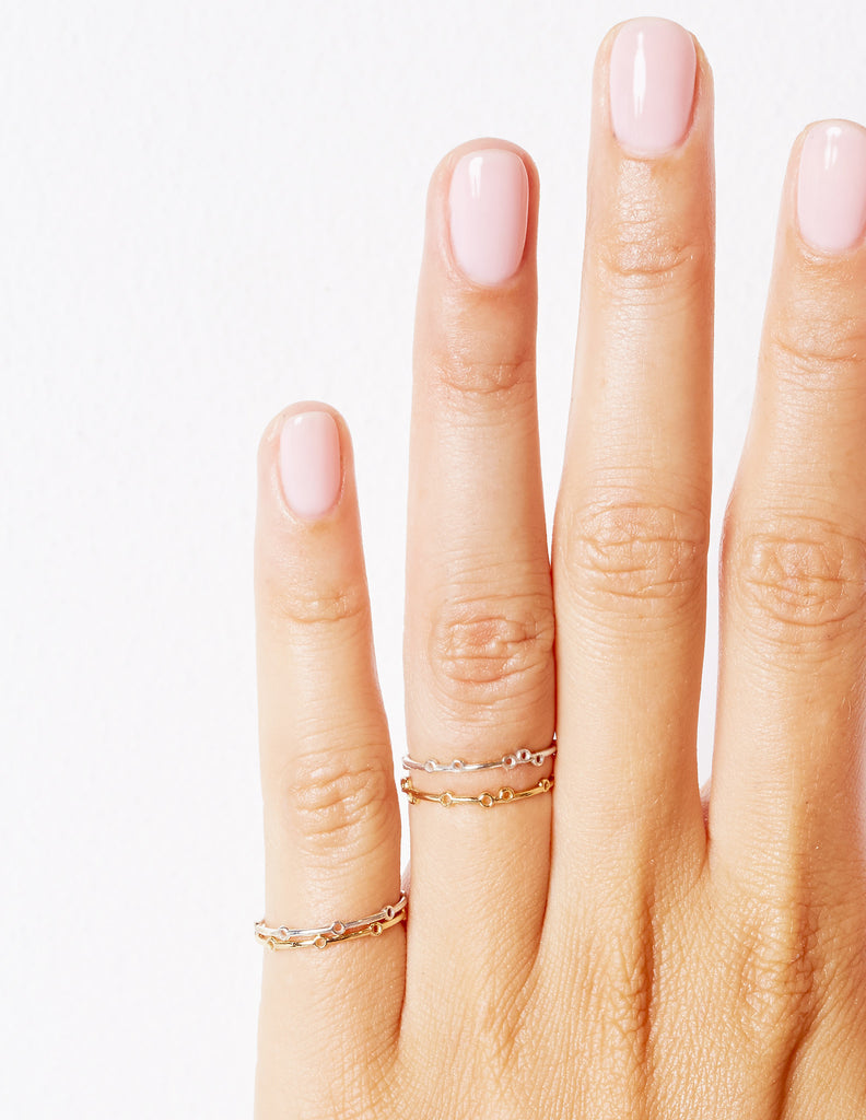 Tiny Bubble Ring | Silver