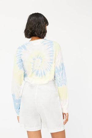 Long Sleeve Crewneck | Ziggy Tie Dye | LACAUSA NZ | Tops NZ | Black Box Boutique Auckland | Womens Fashion NZ