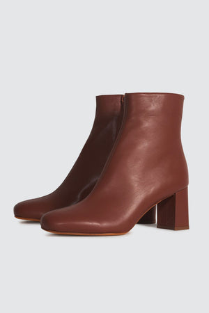 Agnes Boot | Cognac | Footwear NZ | MARYAM NASSIR ZADEH NZ | Black Box Boutique Auckland | Womens Fashion NZ