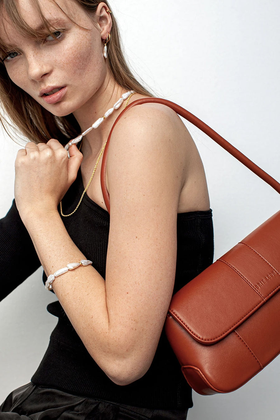 The Camille | Desert Red | Bags NZ | BRIE LEON NZ | Black Box Boutique Auckland | Womens Fashion NZ