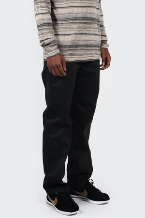 Fleet Rigid 5 Pocket Pant | Washed Black