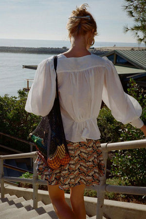Allegra Top Voile | White | Tops NZ | CIAO LUCIA NZ | Black Box Boutique Auckland | Womens Fashion NZ