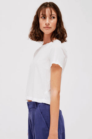 Foster Tee | White | Tops NZ | LACAUSA NZ | Black Box Boutique Auckland | Womens Fashion NZ