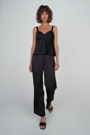 Mary Pant | Black | Bottoms NZ | HANSEN & GRETEL NZ | Black Box Boutique Auckland | Womens Fashion NZ