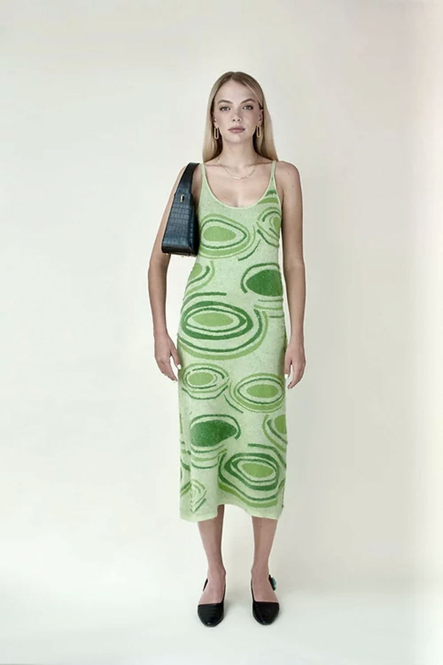 Hockney Dress | Lily Pad Palm Green | HOUSE OF SUNNY NZ | Dresses NZ | Black Box Boutique Auckland | Womens Fashion NZ