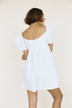 Ischia Dress | White | CIAO LUCIA NZ | Dresses NZ | Black Box Boutique Auckland | Womens Fashion NZ