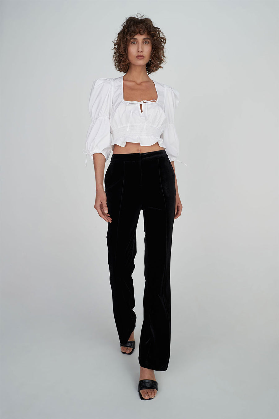 Jezebel Top | White | HANSEN & GRETEL NZ | Tops NZ | Black Box Boutique Auckland | Womens Fashion NZ