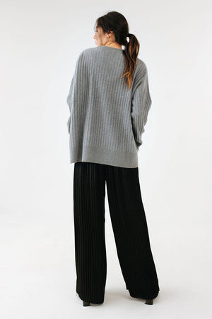 Jo Jumper | Pewter | Marle NZ | Tops NZ | Black Box Boutique Auckland | Womens Fashion NZ
