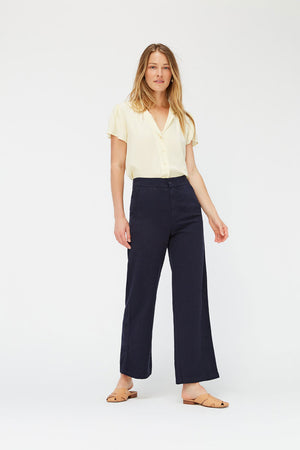 Jojo Trousers | Ink | Bottoms NZ | LACAUSA NZ | Black Box Boutique Auckland | Womens Fashion NZ