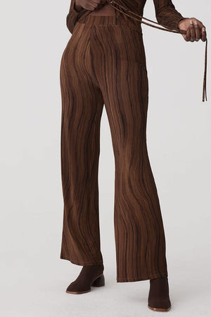 Khali Zaida Pants Brown | Bottoms NZ | PALOMA WOOL NZ | Black Box Boutique Auckland | Womens Fashion NZ