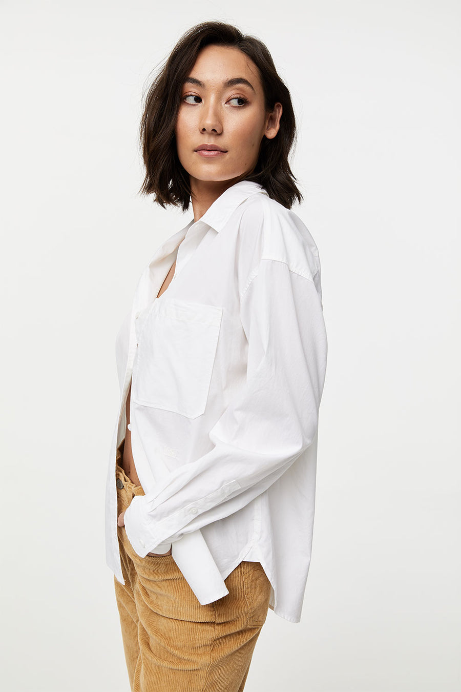 The Relaxed Shirt | Bright White | LEVI'S NZ | Tops NZ | Black Box Boutique Auckland | Womens Fashion NZ