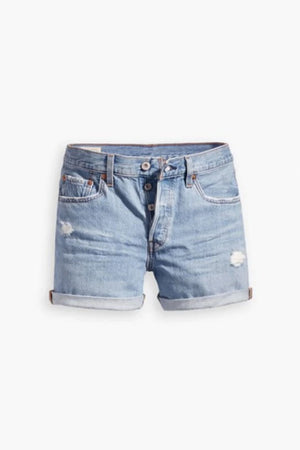 501 Rolled Short | Sansome Midday | LEVI'S NZ | Denim NZ | Black Box Boutique Auckland | Womens Fashion NZ
