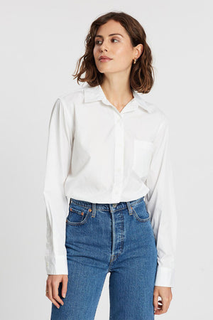 Ultimate BF Shirt | Bright White | LEVI'S NZ | Tops NZ | Black Box Boutique Auckland | Womens Fashion NZ