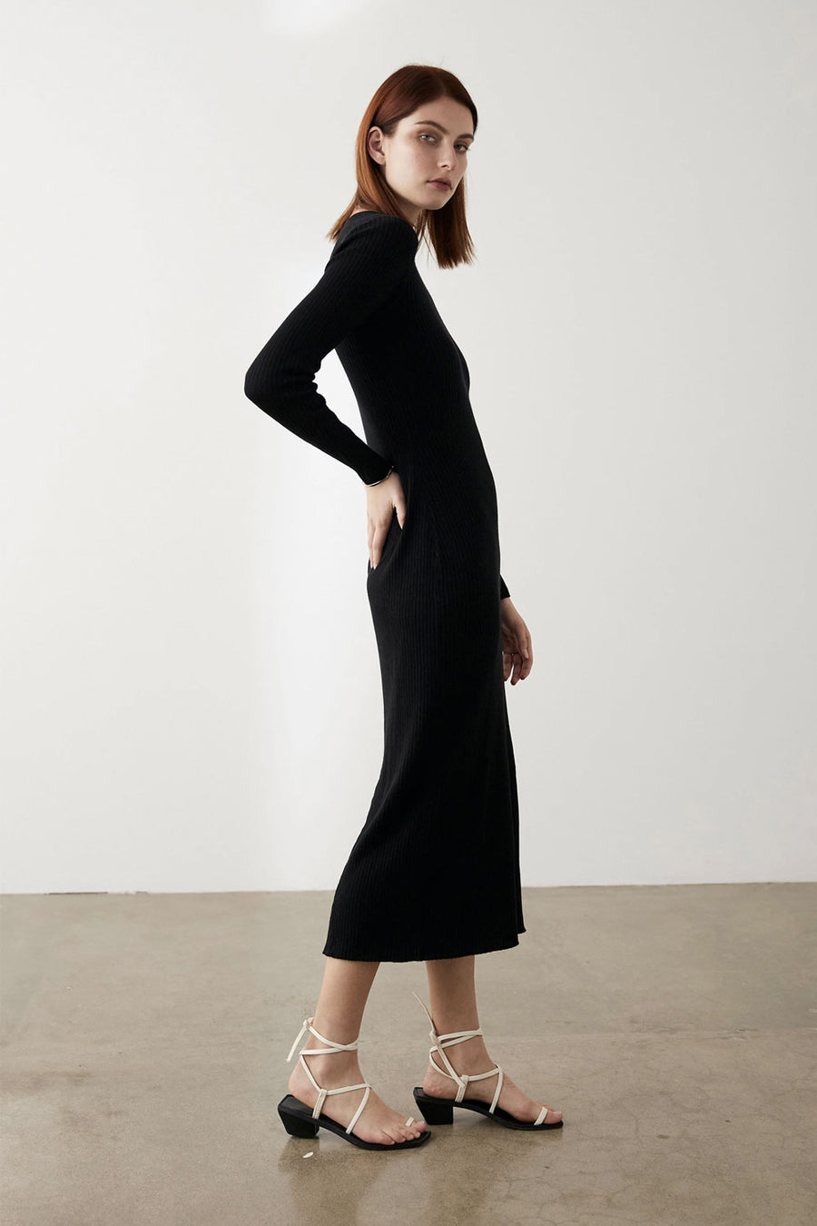 Felix Dress | Black | MARLE NZ | Dresses NZ | Black Box Boutique Auckland | Womens Fashion NZ
