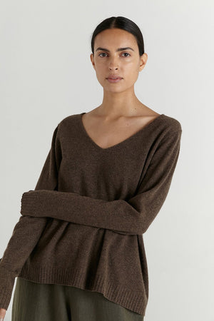 Mason Sweater | Porcini | MARLE NZ | sweaters NZ | Black Box Boutique Auckland | Womens Fashion NZ