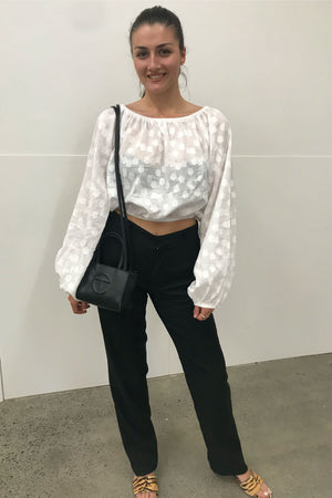 Mary Jane Blouse | White | Tops NZ | BEACH KNICKERS NZ | Black Box Boutique Auckland | Womens Fashion NZ