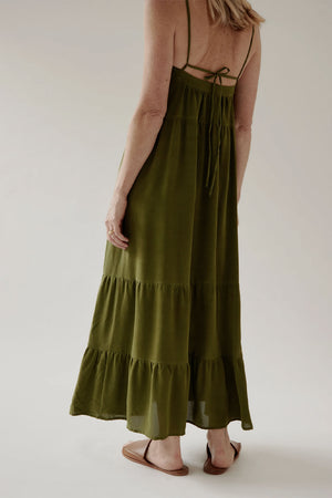 Winona Dress | Green | Dresses NZ | MINA NZ | Black Box Boutique Auckland | Womens Fashion NZ