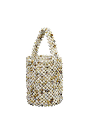 MINI BEAD BAG | CREAM MIX