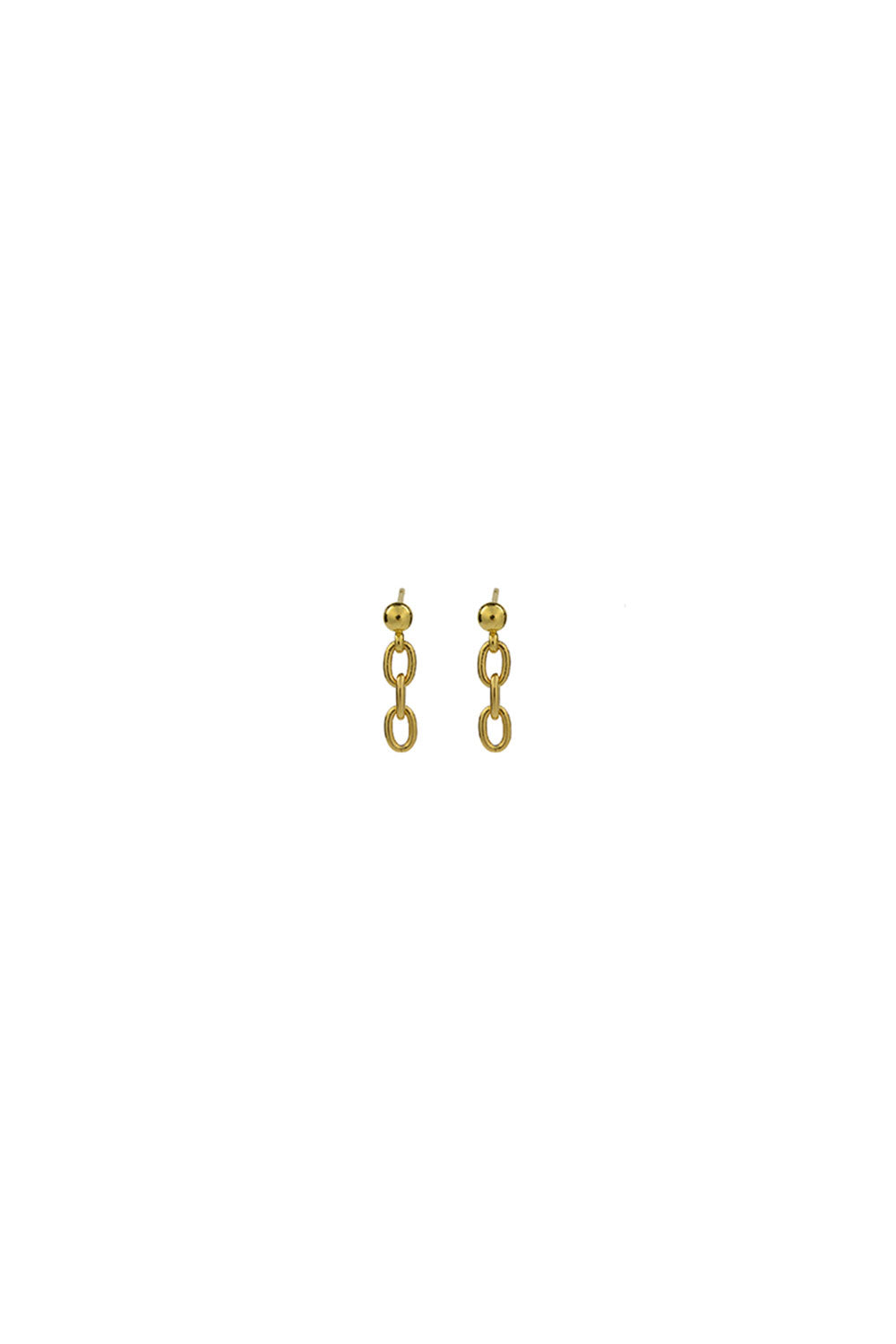 MINI CHAIN STUDS | GOLD