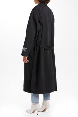 Off Duty Coat | Black | coats NZ | KSUBI NZ | Black Box Boutique Auckland | Womens Fashion NZ