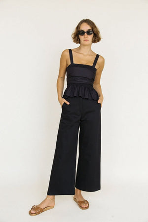 Orlando Pant | Black | Bottoms NZ | CIAO LUCIA NZ | Black Box Boutique Auckland | Womens Fashion NZ