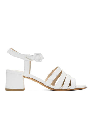 Palma High Sandal | White | Footwear NZ | MARYAM NASSIR ZADEH NZ | Black Box Boutique Auckland | Womens Fashion NZ