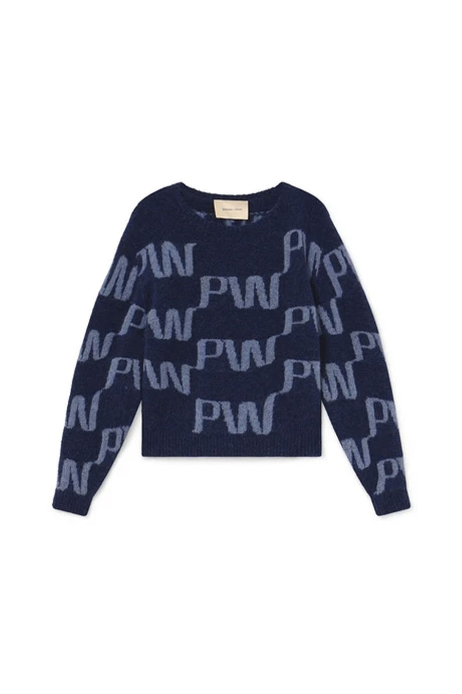 Windows Knit | Dark Navy | PALOMA WOOL NZ | Tops NZ | Black Box Boutique Auckland | Womens Fashion NZ