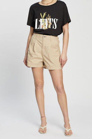 Pleated Utility Short | Nomad | Bottoms NZ | LEVI'S NZ | Black Box Boutique Auckland | Womens Fashion NZ