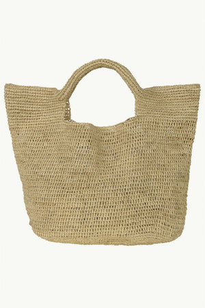 Rafia Beach Bag | Natural | Bags NZ | BRIE LEON NZ | Black Box Boutique Auckland | Womens Fashion NZ