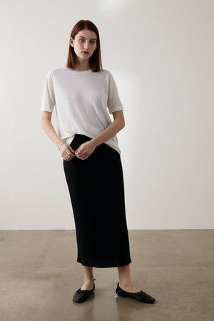 Sloan Skirt | Black | Bottoms NZ | MARLE NZ | Black Box Boutique Auckland | Womens Fashion NZ
