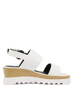Traci Wedge | White | Footwear NZ | SOL SANA NZ | Black Box Boutique Auckland | Womens Fashion NZ