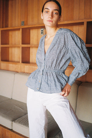 Talita Top | Gingham | Tops NZ | CIAO LUCIA NZ | Black Box Boutique Auckland | Womens Fashion NZ