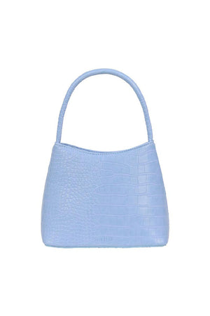 The Chloe | Powder Blue Croc | Bags NZ | BRIE LEON NZ | Black Box Boutique Auckland | Womens Fashion NZ