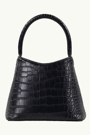 The Mini Chloe | Matte Black Croc | BRIE LEON NZ | Bags NZ | Black Box Boutique Auckland | Womens Fashion NZ