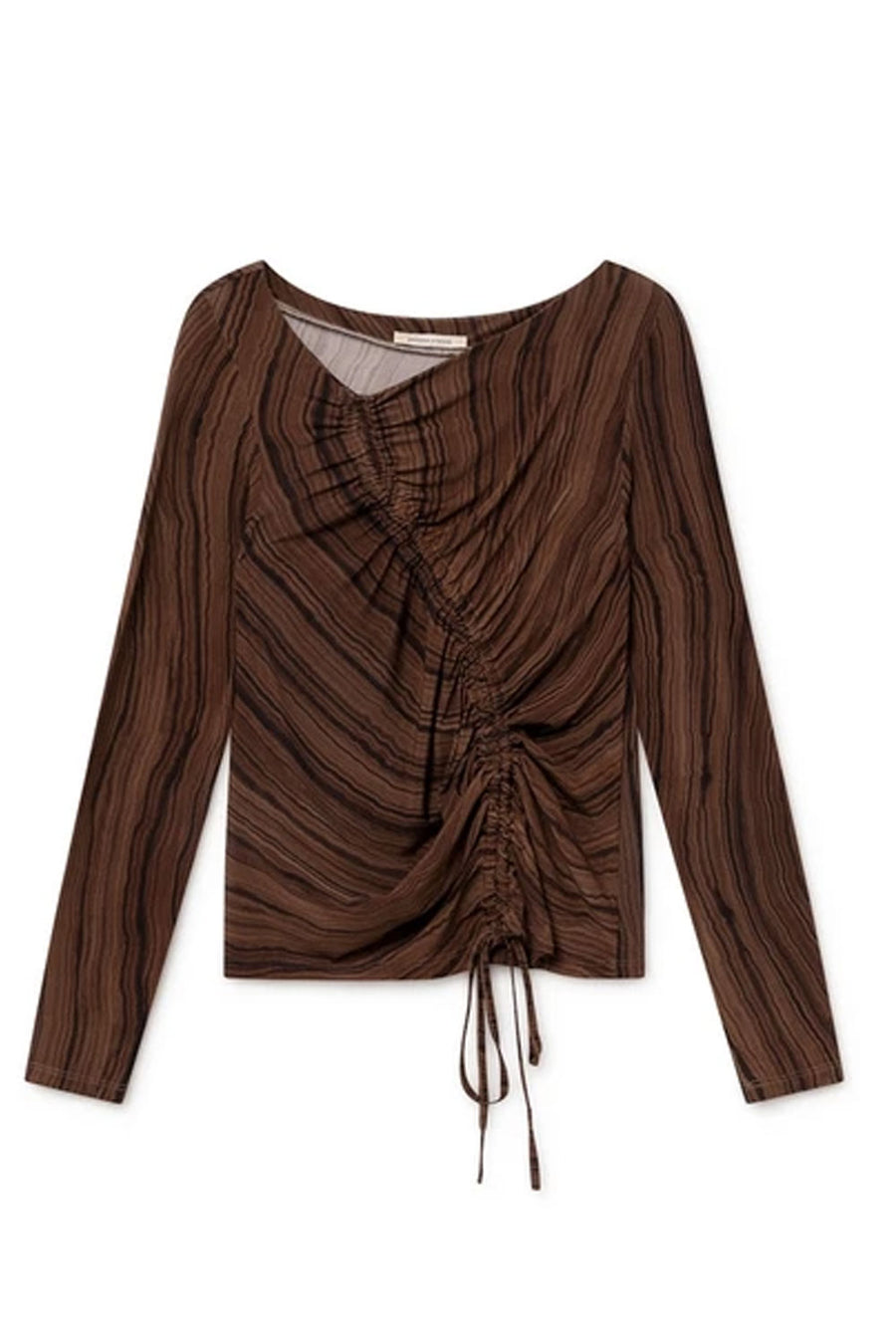 Valley Zaida Top | Brown | Tops NZ | PALOMA WOOL NZ | Black Box Boutique Auckland | Womens Fashion NZ