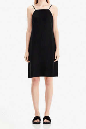 Square Neck Slip Dress | Black | Dress NZ | COMMONERS NZ | Black Box Boutique Auckland | Womens Fashion NZ