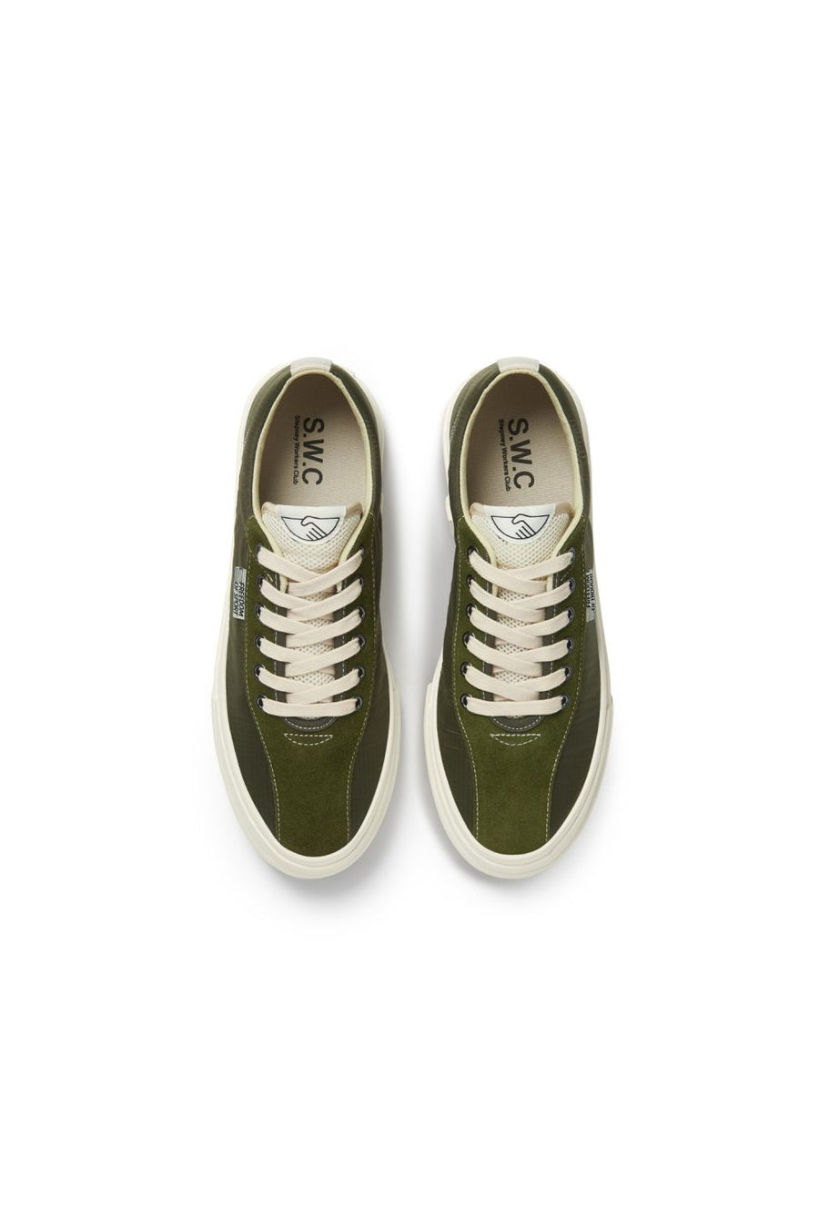 Dellow Track Nylon | Olive | footwear NZ | STEPNEY WORKERS CLUB NZ | Black Box Boutique Auckland | Womens Fashion NZ