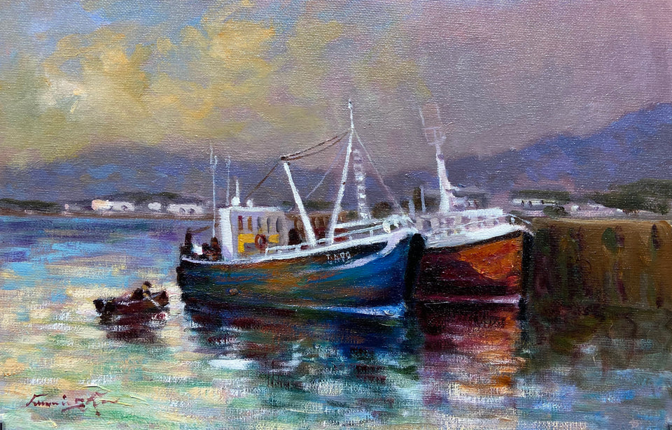 Harboured Boats, Co.Kerry