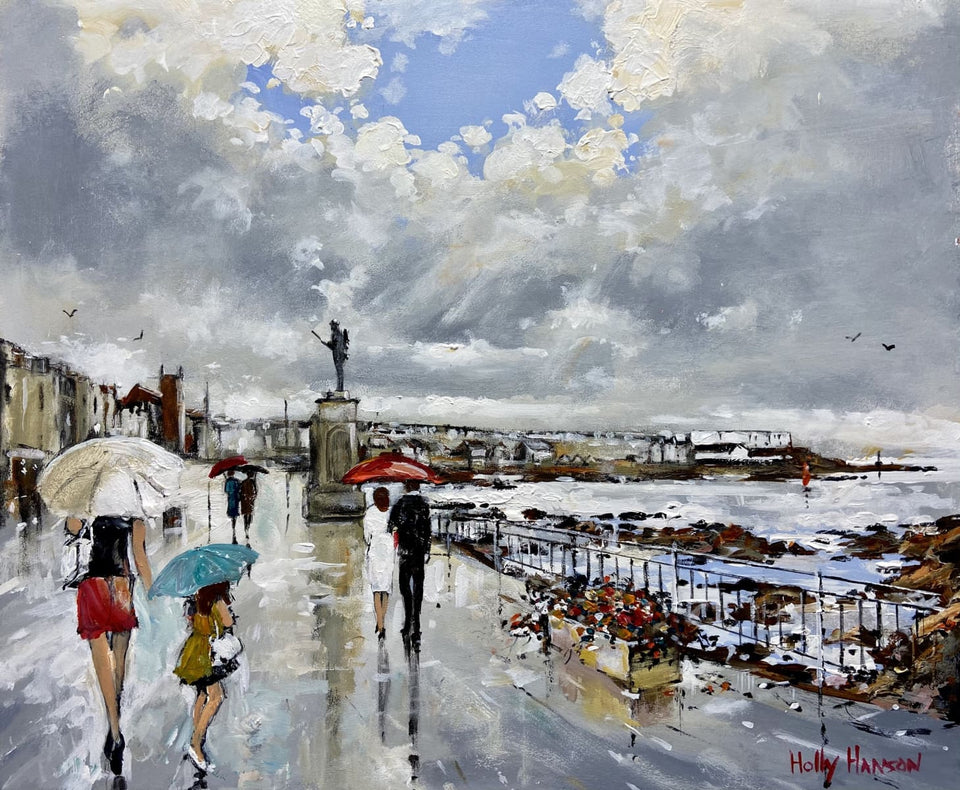 Afternoon Showers Portstewart Original Artwork