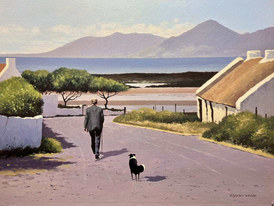 Almost Home Near Dundrum Co.down. Original Artwork