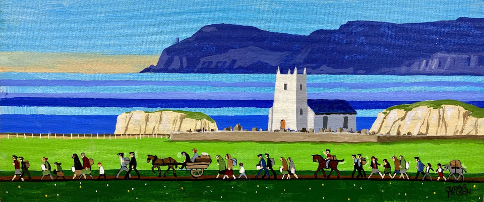 At Old Ballintoy Co.antrim Original Artwork