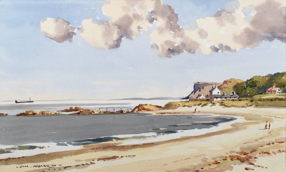 Ballycastle Strand & Fairhead Co.antrim. Original Artwork