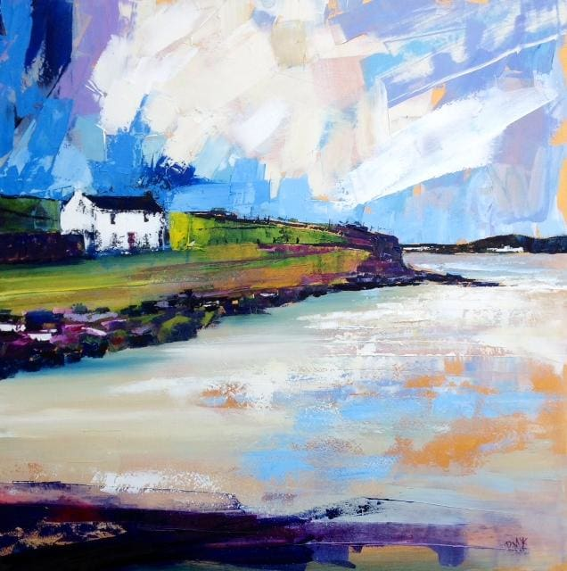 Beach House Downings Co.donegal Original Artwork