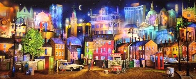 Belfast - Before The Sweety Mice Signed Limited Edition Print