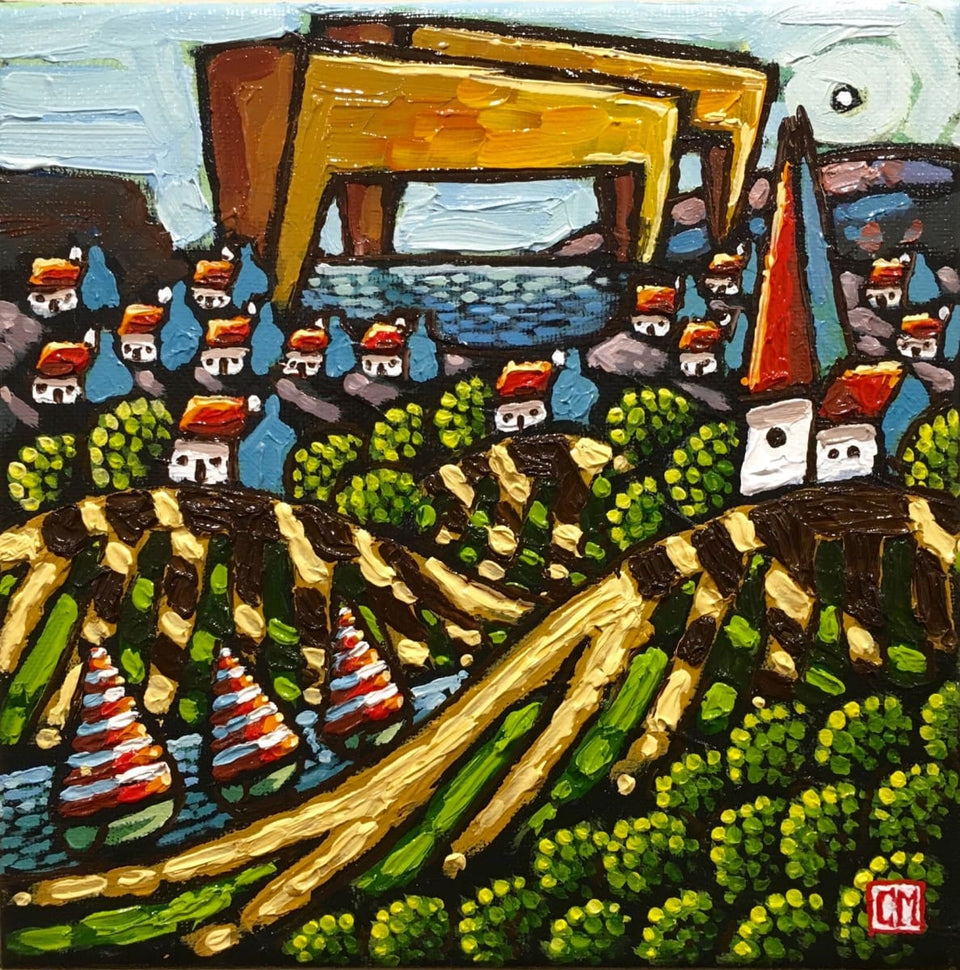 Beyond The Hills Belfast Original Artwork