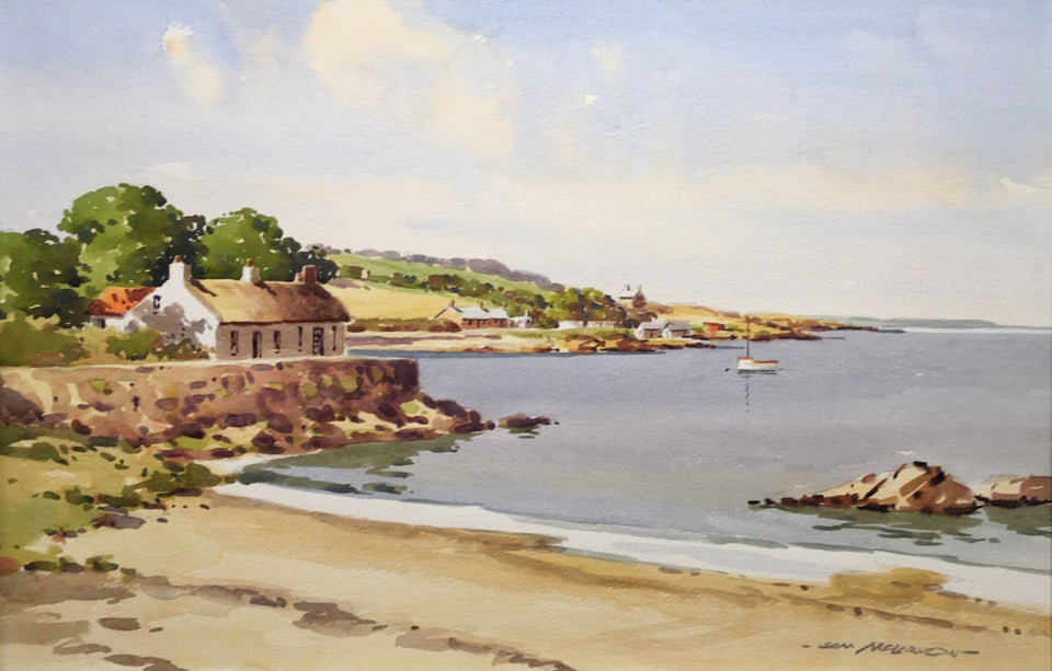 Browns Bay Co.antrim Northern Ireland Original Artwork