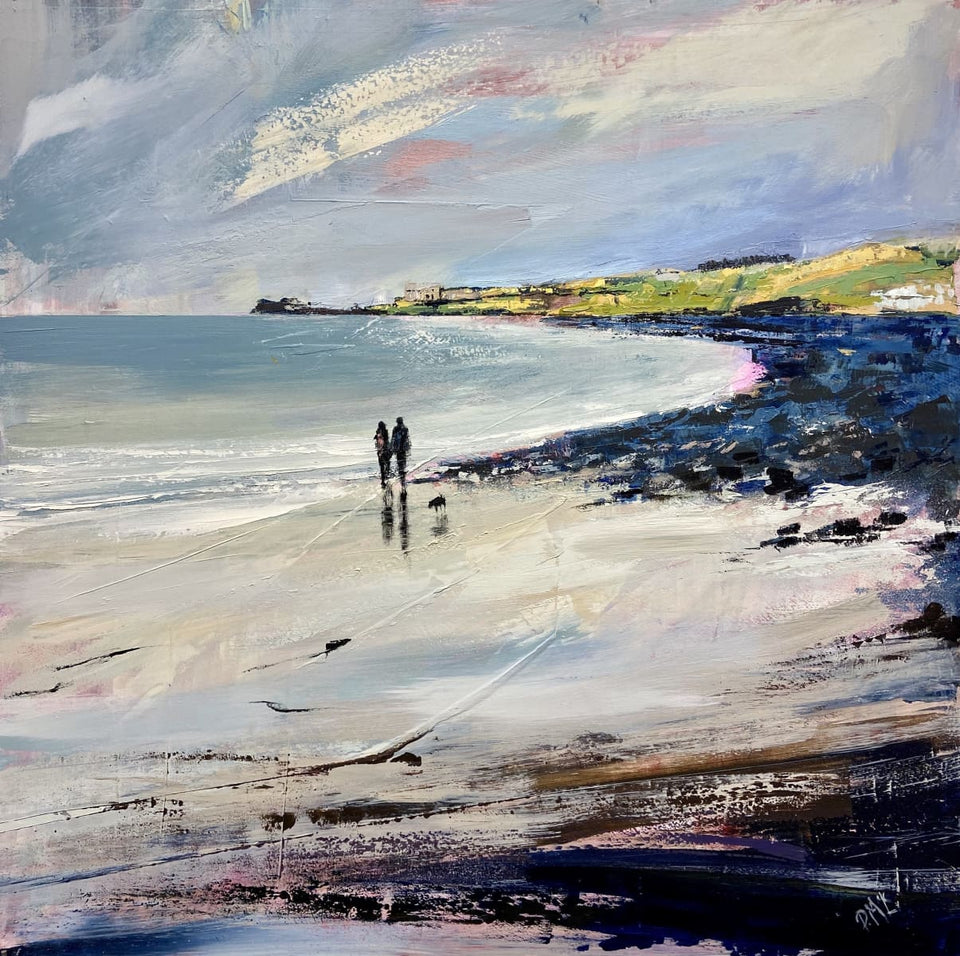 By The Waters Edge Portballintrae Co.antrim. Original Artwork